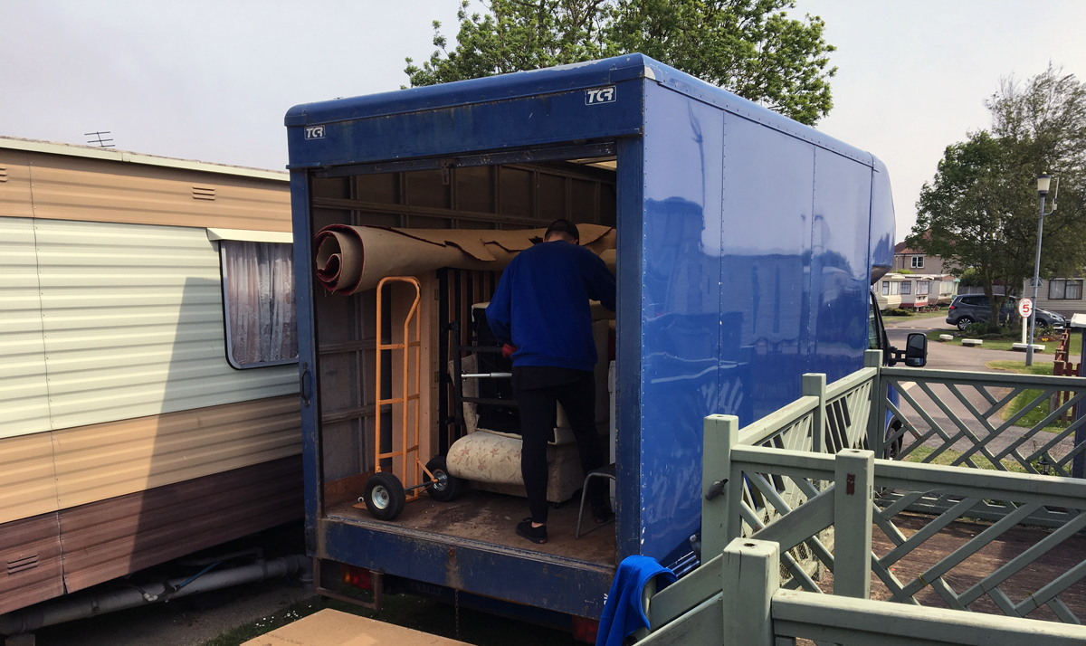 Caravan Removals and Clearance